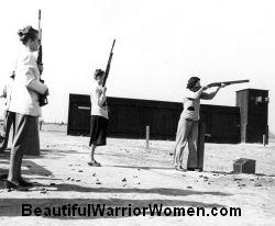 50's women with guns, retro women with guns, woman with guns, women and guns, gun, fire arms, pistols, revolver, fire-arm, firearm