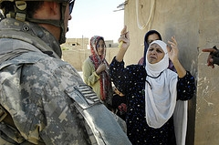 women in combat iraq