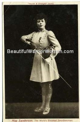 Historical Female                                               Fencing Champion